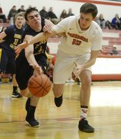 Vandercook Lake defeats Columbia Central in boys basketball