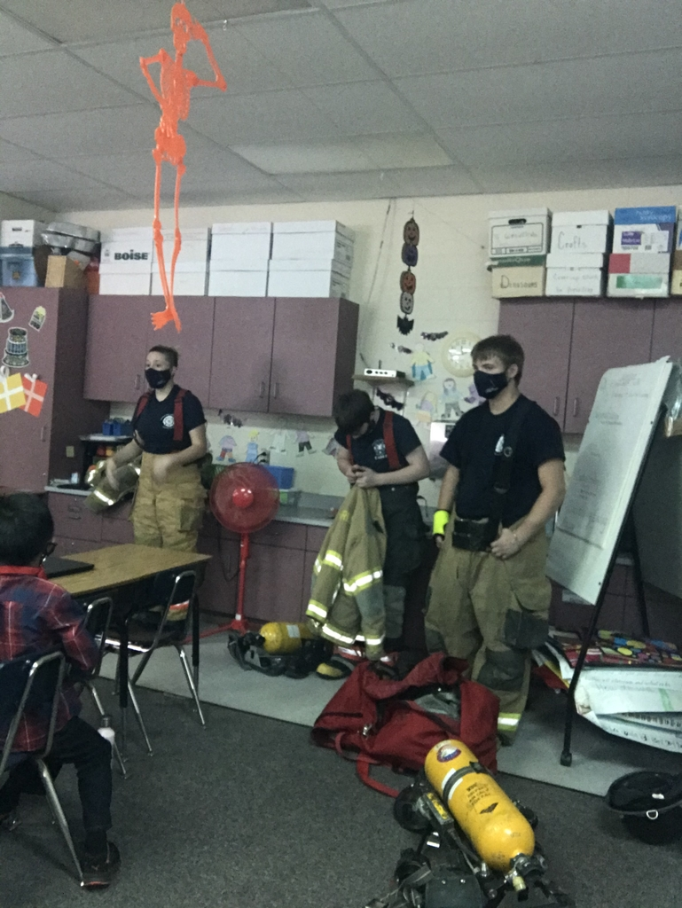 VCL juniors talked fire safety!