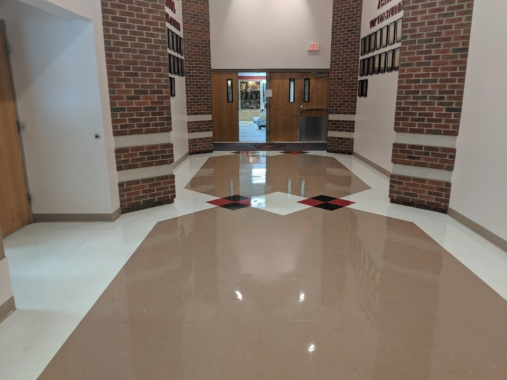 High School main lobby