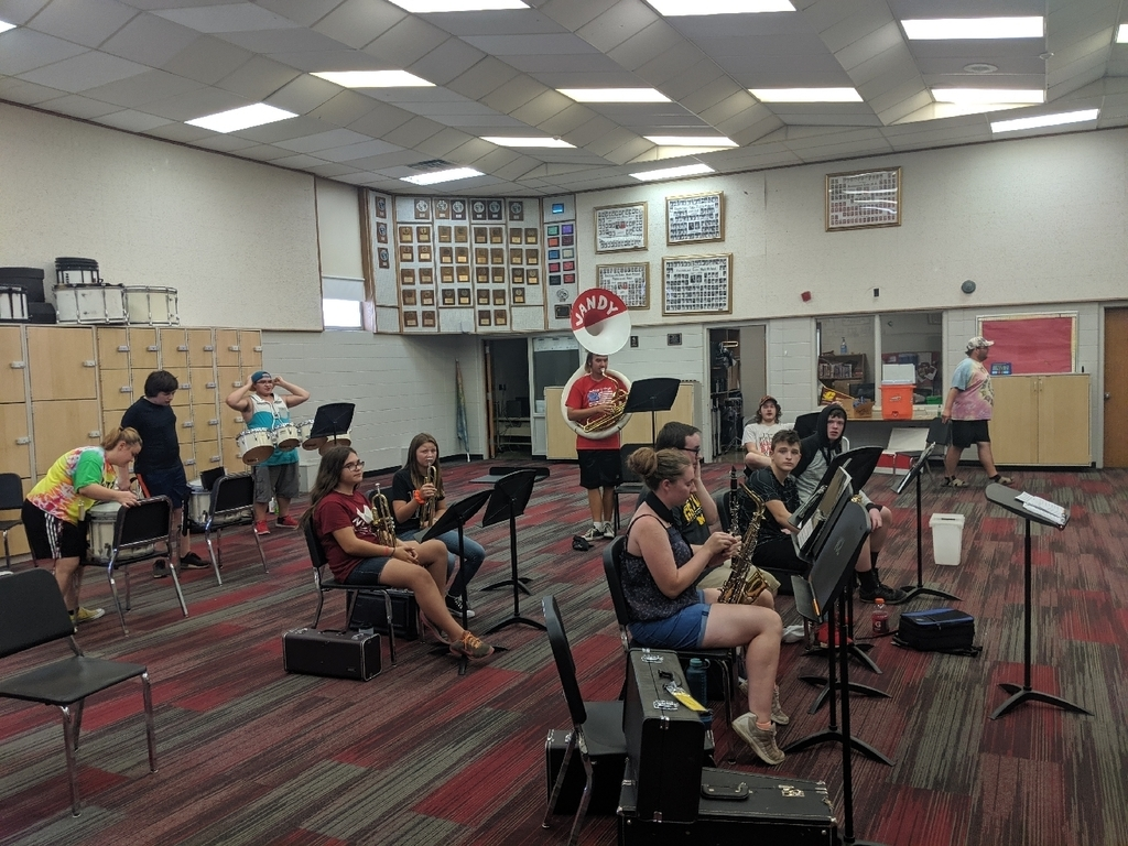 Summer band practice