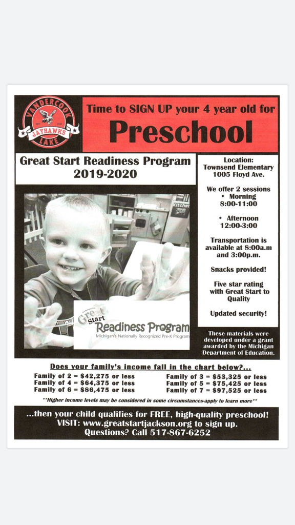 Register your child for an amazing year of learning!