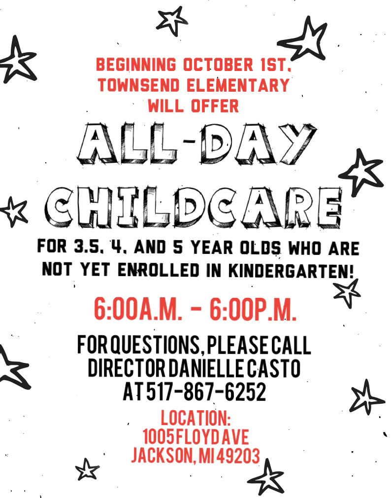 ALL-DAY CHILDCARE!!❤️