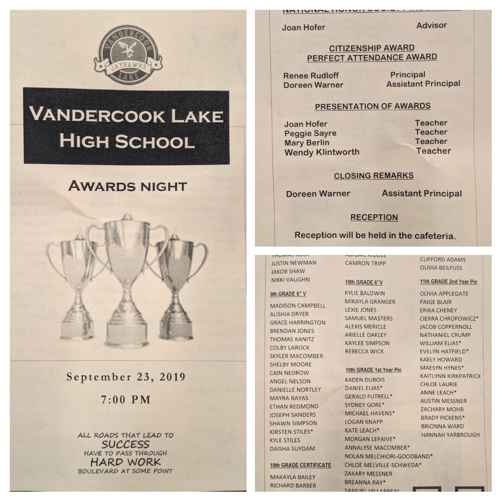 awards night program