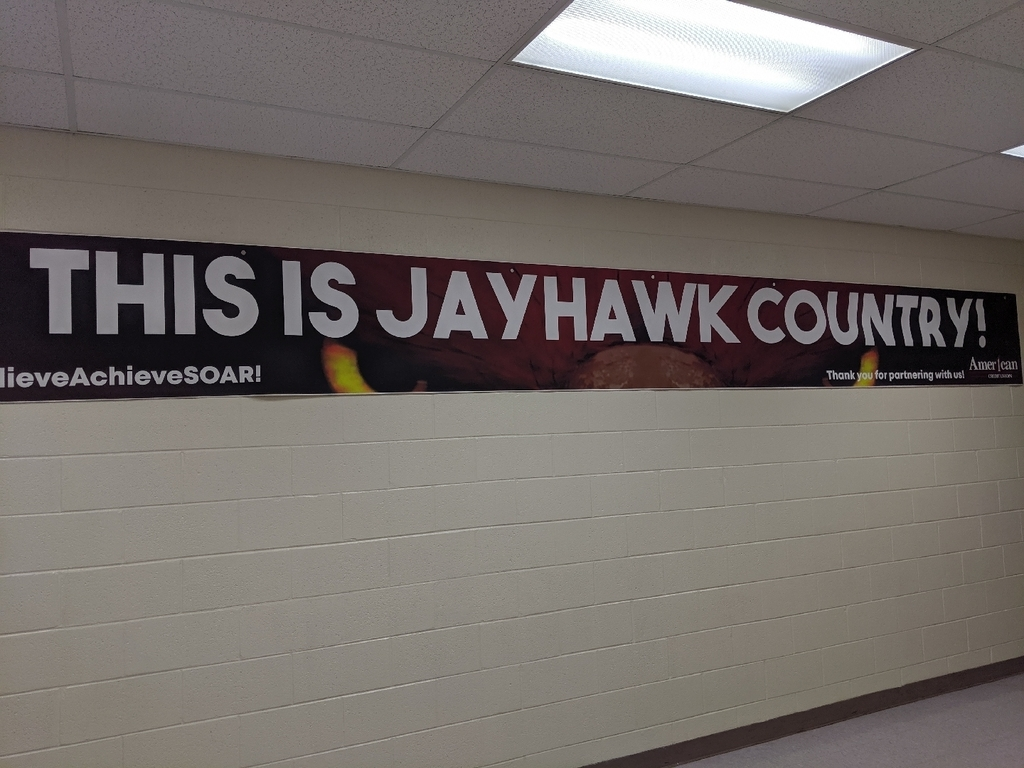 this is Jayhawk country banner