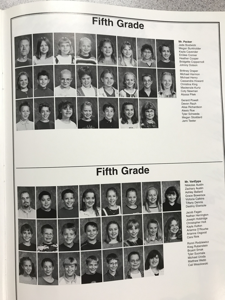 Fifth Graders!