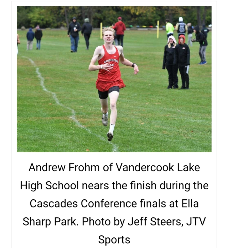 Andrew Frohm running