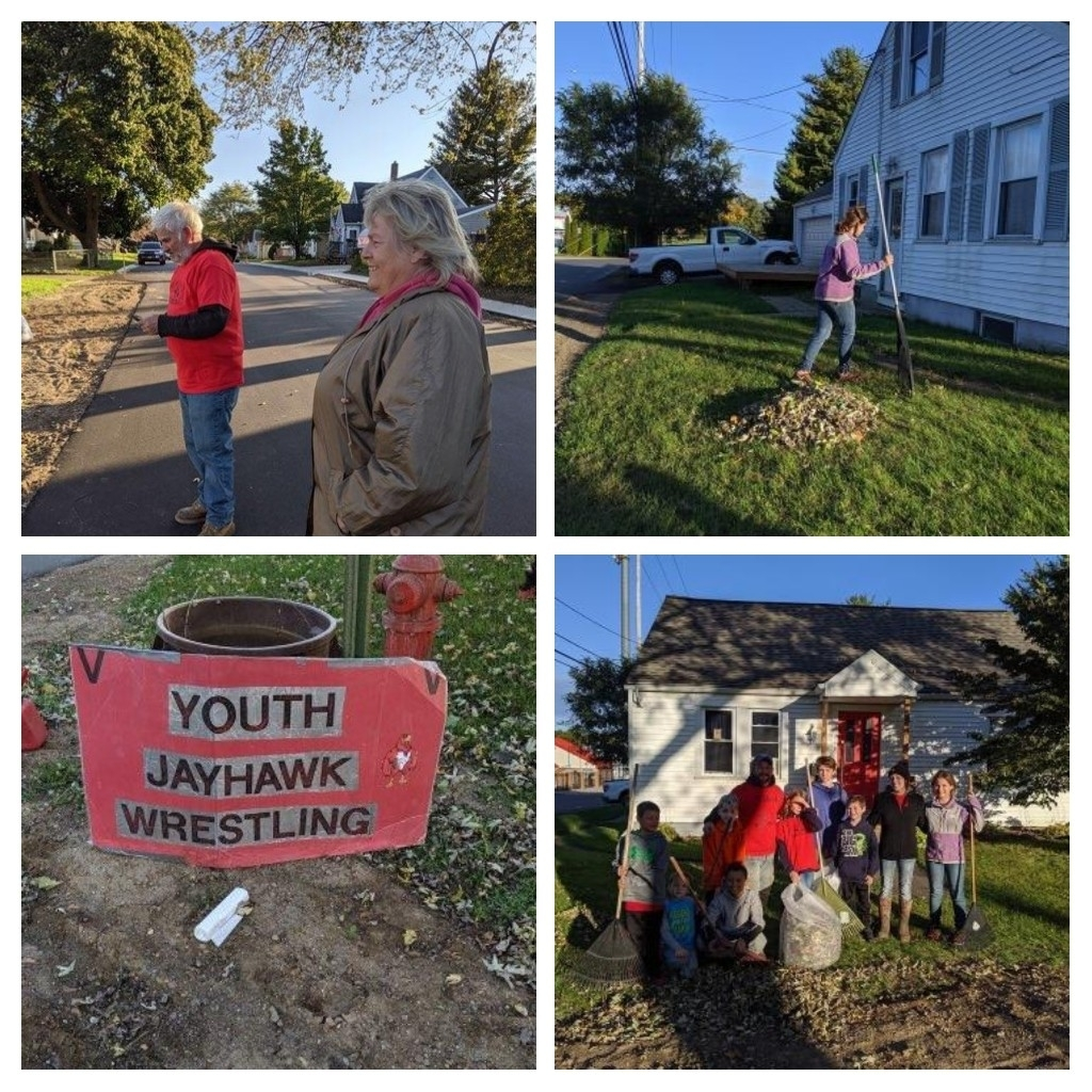 tooth wrestling yard cleanup 1