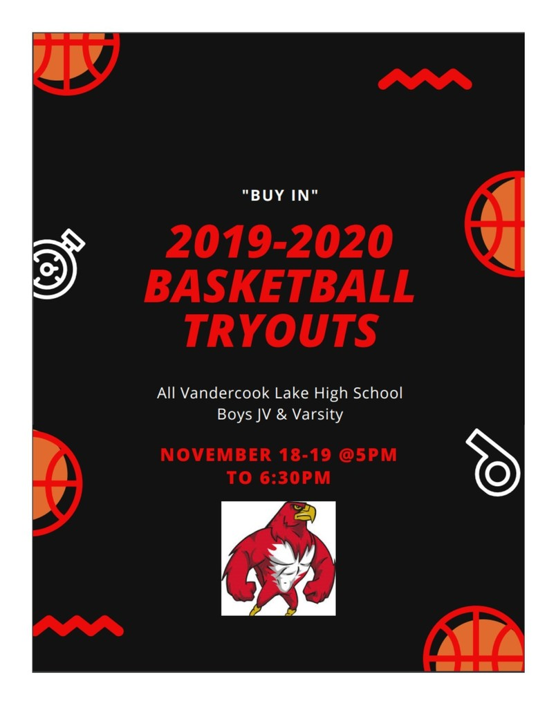 JV/V Boys BB tryouts 19-20