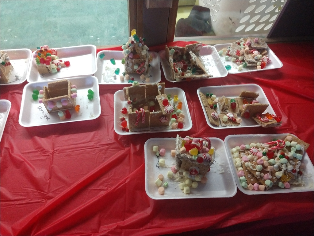 """Gingerbread"" houses!"