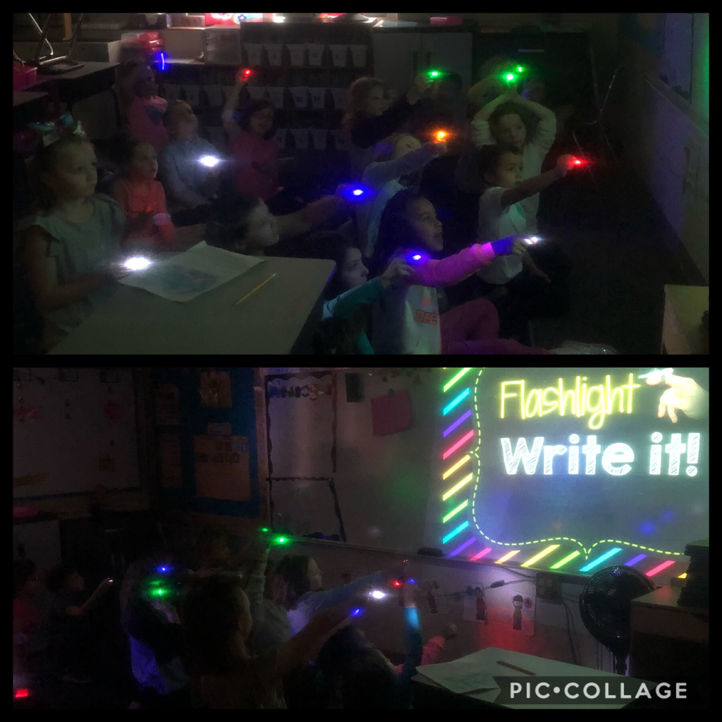 Friday flashlight fun!