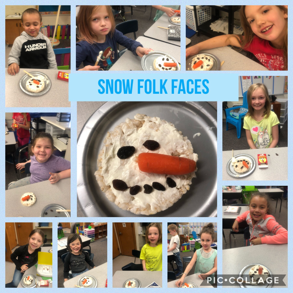 Snow Folk Faces