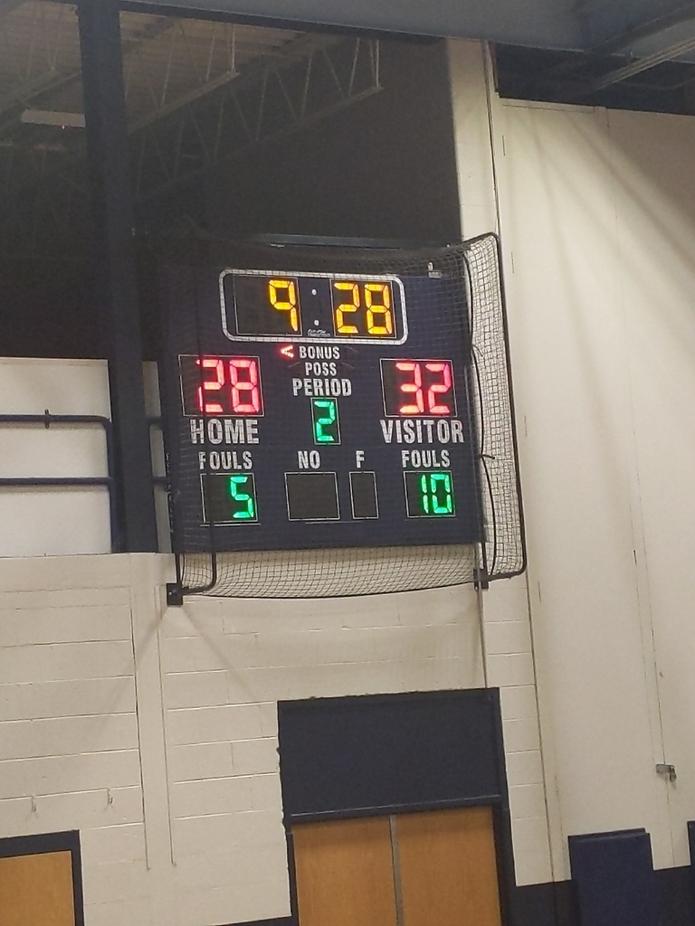 half time score at Easy Jackson