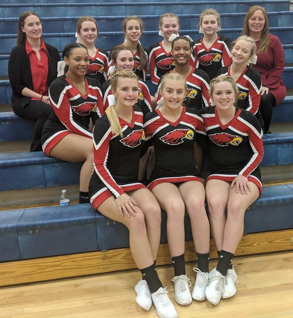 Varsity Cheer at Mason Regionals