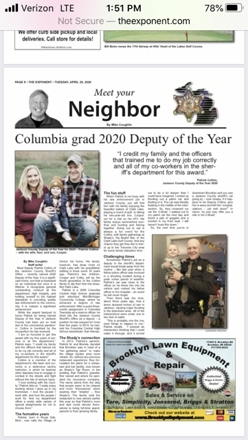 deputy of the year article
