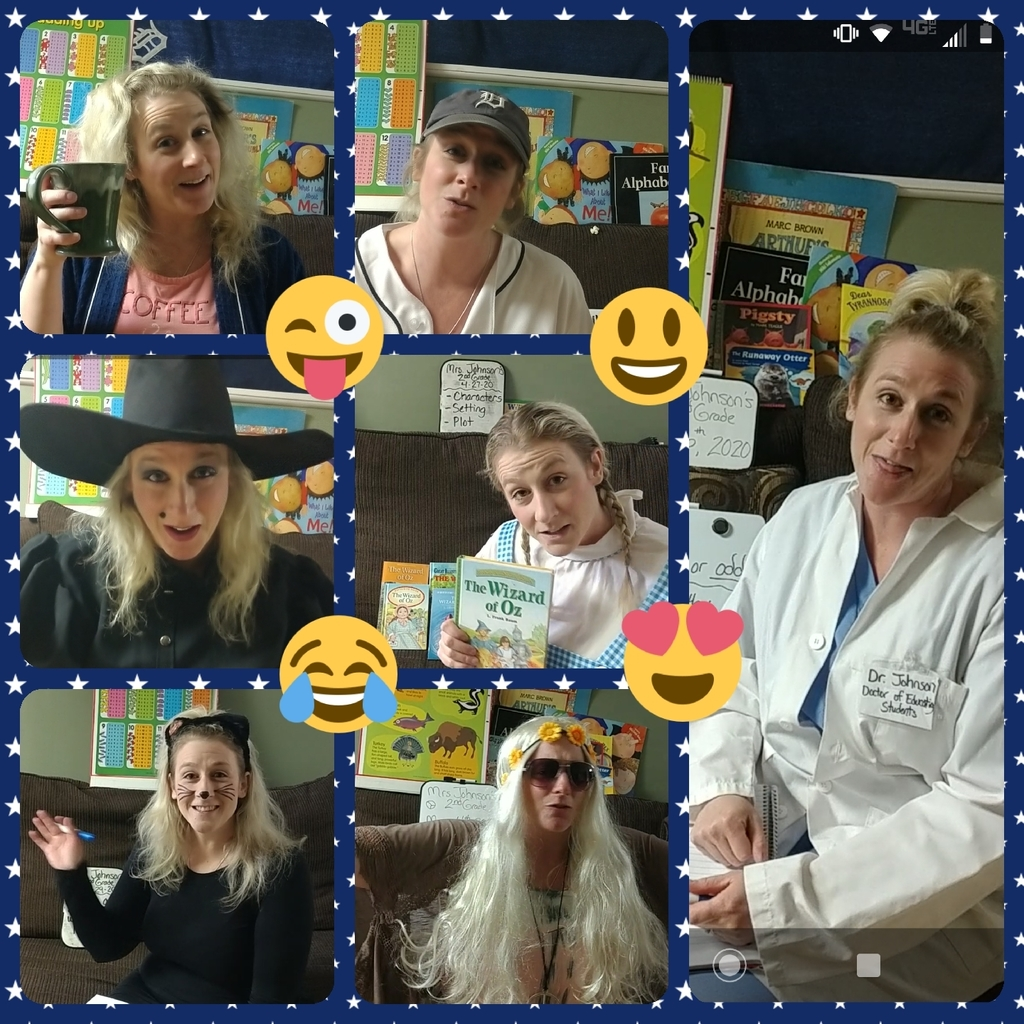 Mrs. Johnson and her crazy dress up lessons!!!