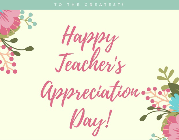 Teacher's Appreciation Day