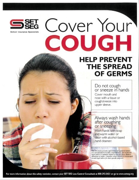 Set-Seg Cover your Cough Poster