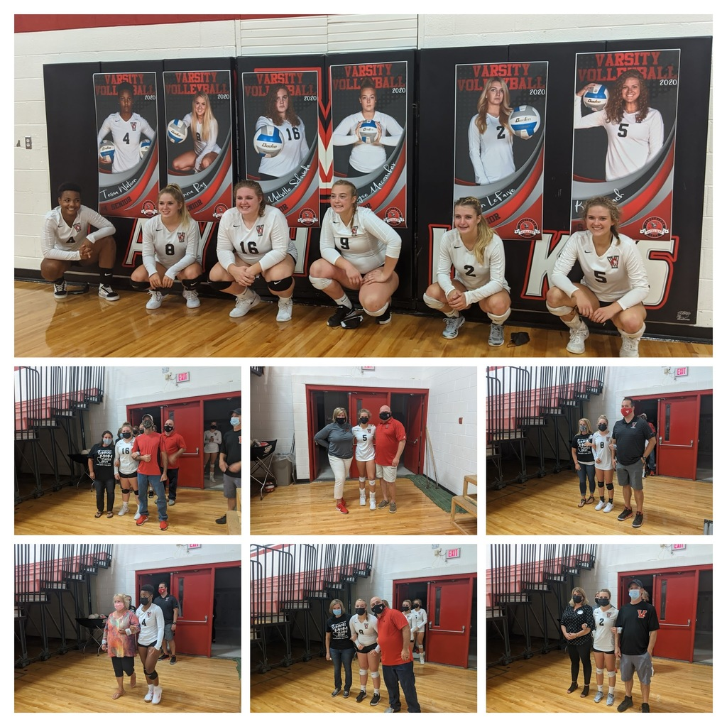 Senior Day for Volleyball